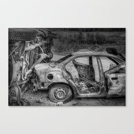 Burn Outs Canvas Print