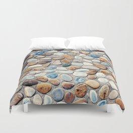 Pebble Rock Flooring V Duvet Cover