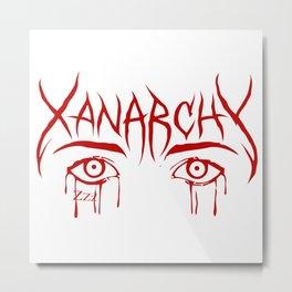 Lil Xan Anarchy Metal Print