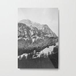 Mountains in Switzerland Metal Print