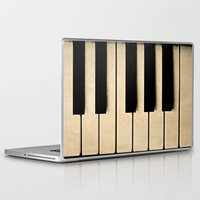 piano Laptop & iPad Skins featuring Piano by Sweet Moments Captured