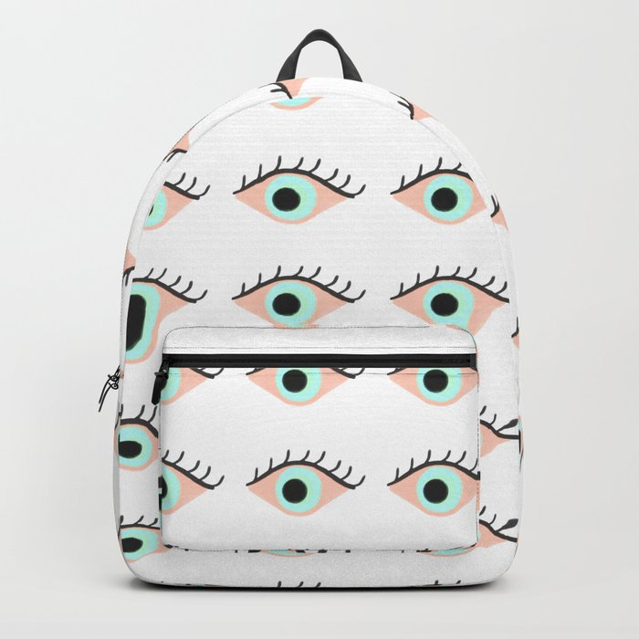 Sweet Evil Eyes Backpack