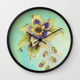 BOTANICAL STUDY I Wall Clock