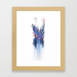 Unwelcome Gaze – Facebook 6 Framed Art Print
