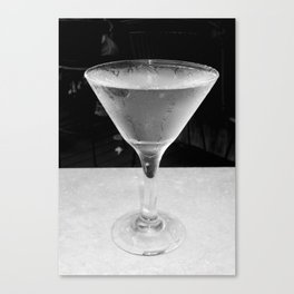 Cold Vodka Canvas Print
