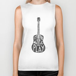 Let the music play Biker Tank