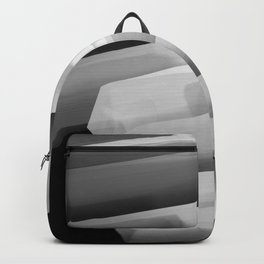 Stairs of Light - Black and White Backpack