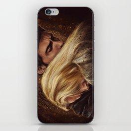 Don't Get Too Close, It's Dark Inside iPhone Skin