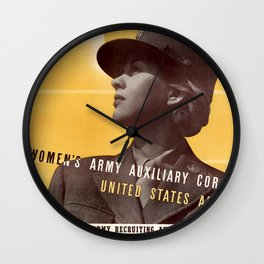 This Is Our War Wall Clock