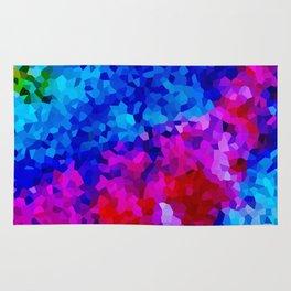 Rock Candy Blue Tie Dye. Rug