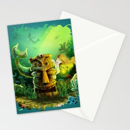 Encounter At The Cove Stationery Cards
