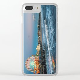 Wheel of Fortune - Santa Monica, California Clear iPhone Case