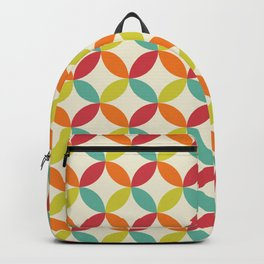 Mid Century Modern Pattern Backpack