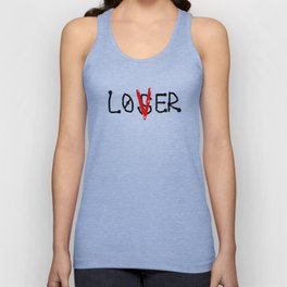 loser lover Unisex Tank Top