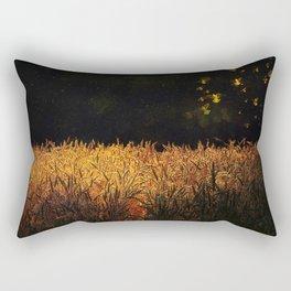 Golden wings Rectangular Pillow