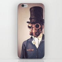 steampunk iPhone & iPod Skins featuring Steampunk by FalcaoLucas
