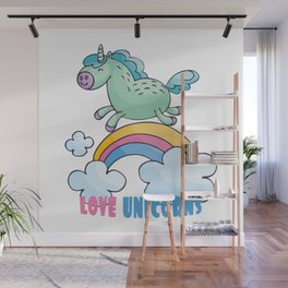 unicorn Wall Mural