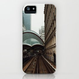 Gotham City Postcard iPhone Case