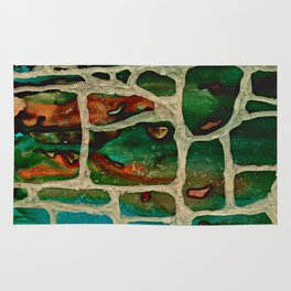 Block Wall Rug