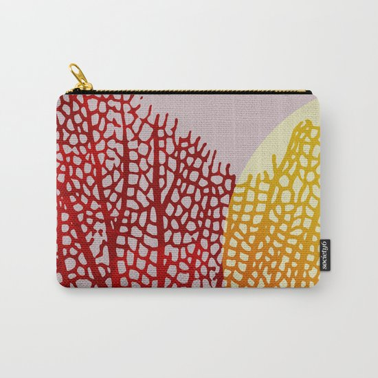 coral sunshine Carry-All Pouch