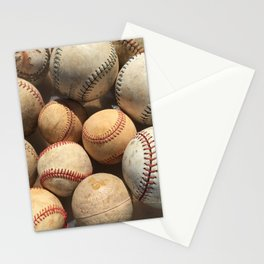 Baseball Obsession Stationery Cards