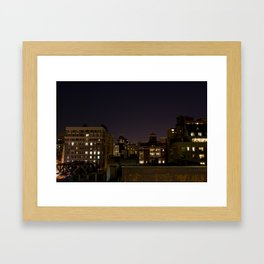 How This Night is Different - New York Framed Art Print