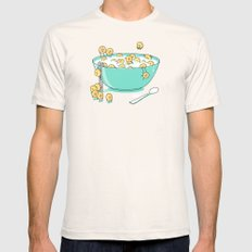 Early Morning Party Natural Mens Fitted Tee X-LARGE
