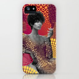 Supermodel Donyale 2 - Supermodels of the Sixties Series iPhone Case