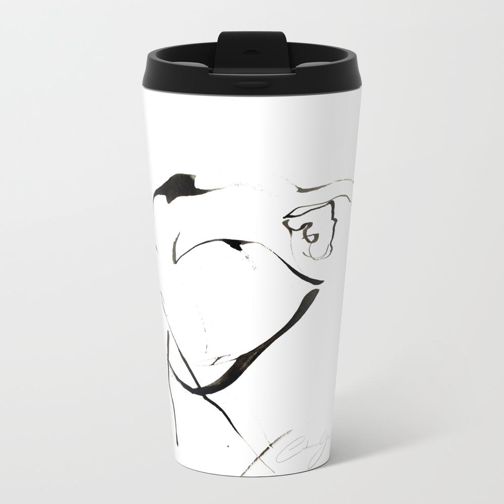 Expressive Ink Dance Drawing Travel Mug TRM8700180