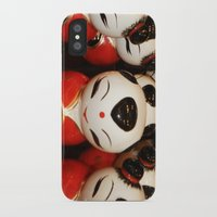 blink 182 iPhone & iPod Cases featuring Blink by Debbie Chessell
