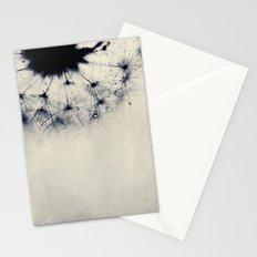 vintage blue dandy Stationery Cards