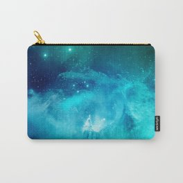 Blue Galactic Portal Carry-All Pouch