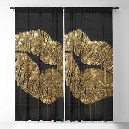 Goldenlips Blackout Curtain