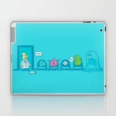 Strange day at the X-ray room Laptop & iPad Skin