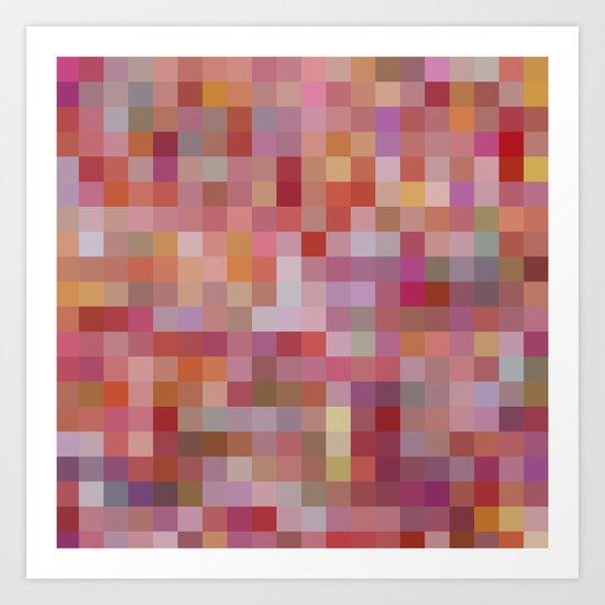 Raspberry Sorbet Art Print