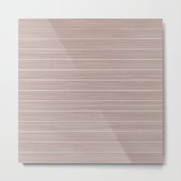 Pale Pink Dogwood Weathered Whitewash Wooden Beach House Metal Print