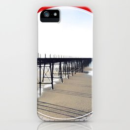 Vitorian Pier - red graphic iPhone Case