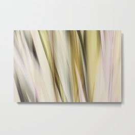 Silk Metal Print