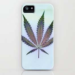 Hemp Lumen #7  Marijuana, Cannabis iPhone Case