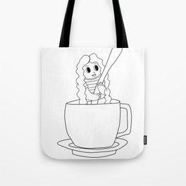 Biondina Caffè Tote Bag
