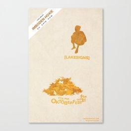 Lakesigns Poster - Oktoberfest 10-1-2011 Canvas Print