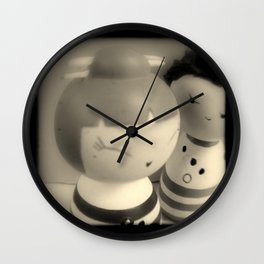 Sweet on Stripes Wall Clock