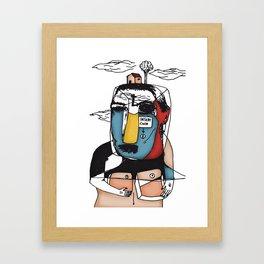 Insert Framed Art Print