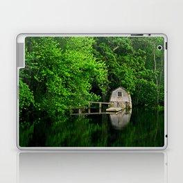 Green Reflections Laptop & iPad Skin