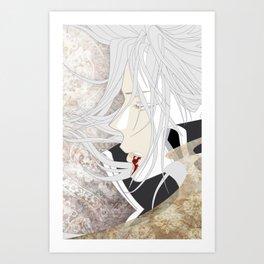 It Bleeds Art Print