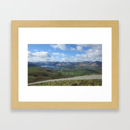 A Lake District panorama Framed Art Print