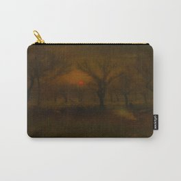 George Inness - Sunrise in the Apple Orchard Carry-All Pouch