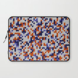 Knitted multicolor pattern 4 Laptop Sleeve