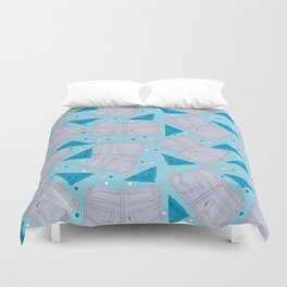 Faded Jeans & Bandanas Duvet Cover