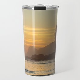 Last Light at Short Sand Beach, Oregon Travel Mug